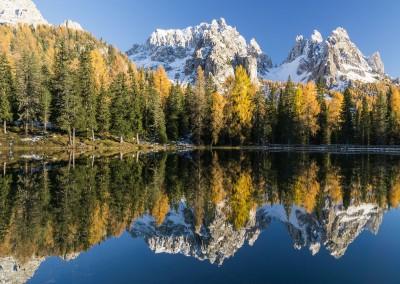 Lake Antorno (Lago d'Antorno), Dolomites, Italy