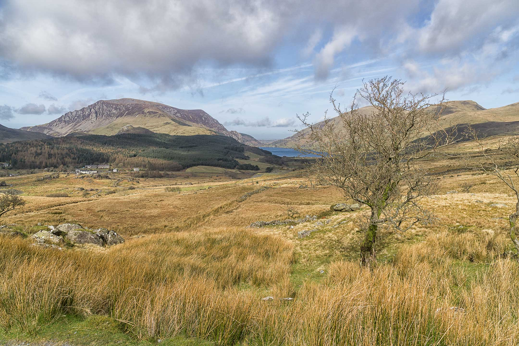 Snowdonia National Park - View from Rhyd Ddu Path