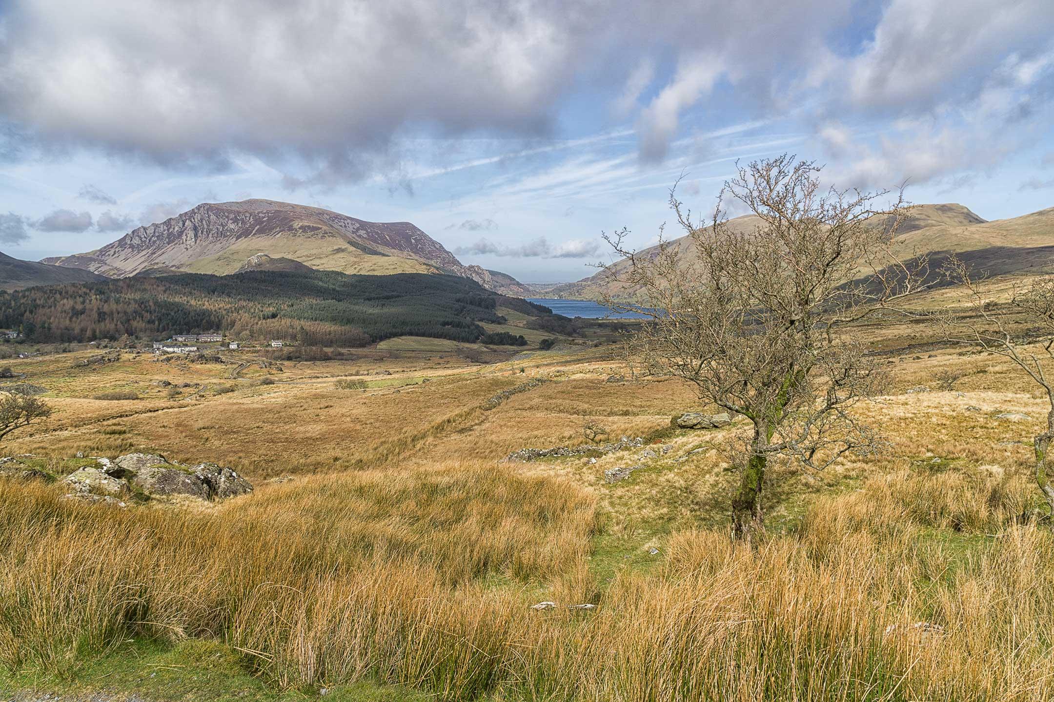 Snowdonia National Park - View from Rhyd Ddu Path