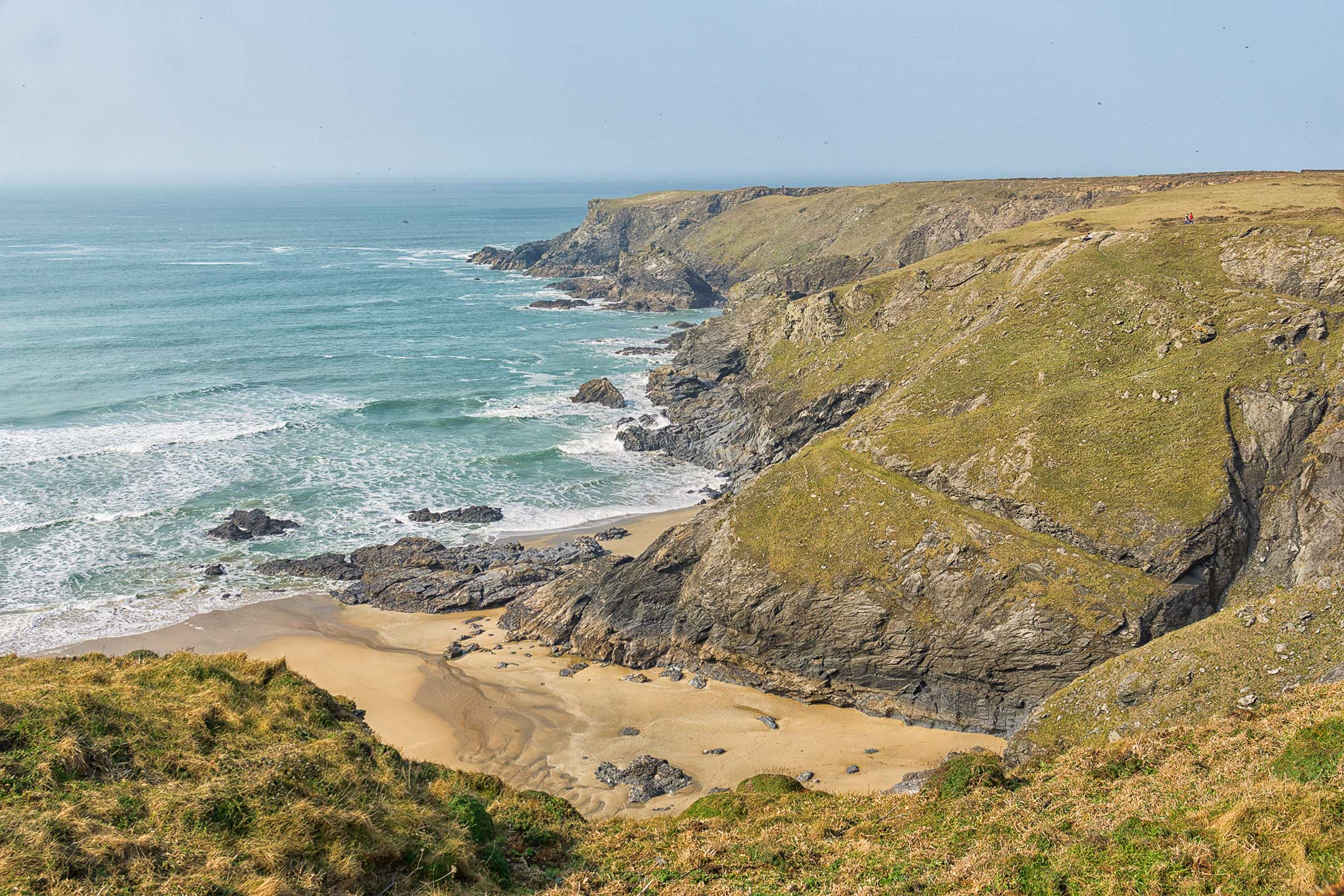 Bedruthan Steps Walk